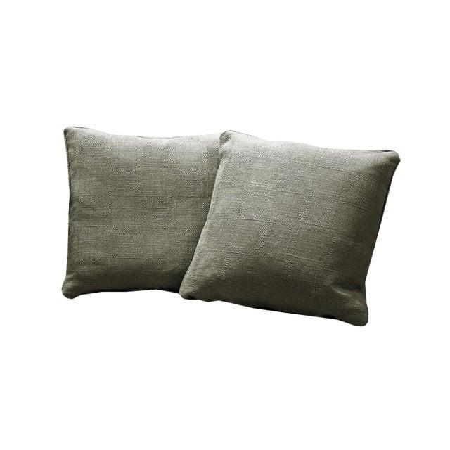 Sarreid Ltd. Granata Zinc Pillows - A Pair - Image 1 of 3
