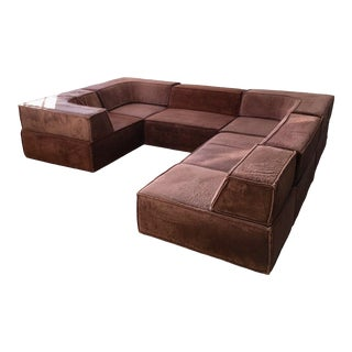 1970s Vintage Complete Team Form Ag for Trio Sofa Sectional For Sale
