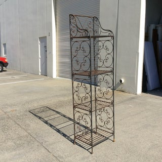 Scrolling Iron Etagere Preview