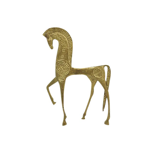 Mid Mod Etruscan Horse Figure - Image 1 of 4