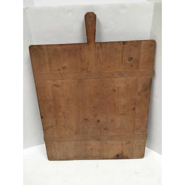 Early 1900s Antique French Large Bread Board