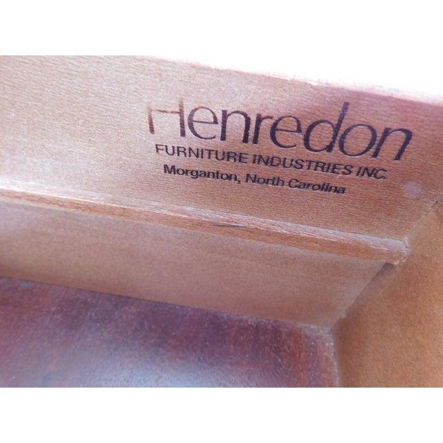 Brass Henredon Campaign Style 7 Drawer Dresser 9101-03 For Sale - Image 7 of 13