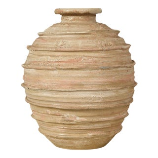 20th Century Handcrafted Pottery Vase For Sale