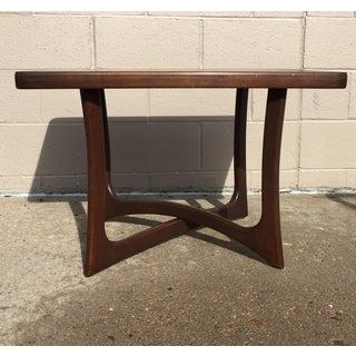Craft Associates Sculptural Walnut Side Table Preview