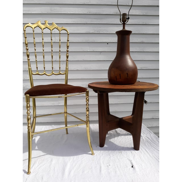 1960s Mid-Century Modern Angel Pazmino, Ecuador, Leather and Wood Table For Sale - Image 11 of 12