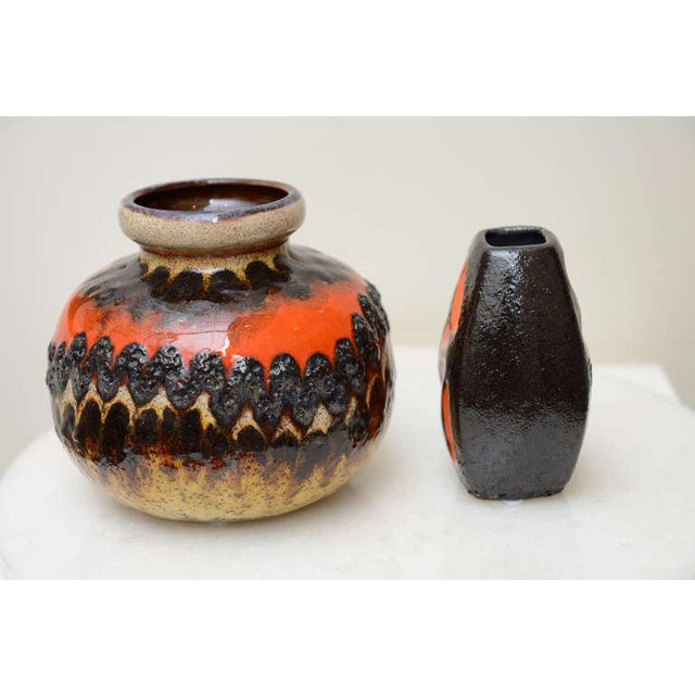 Two Ceramic German Textural Vases/Vessels/Objects - Image 2 of 10