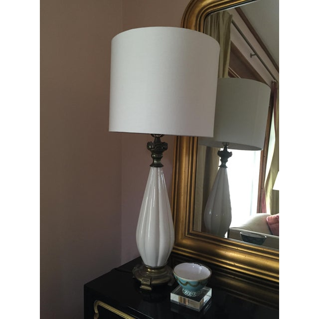 Vintage Hollywood Regency Style Lamp - Image 5 of 5