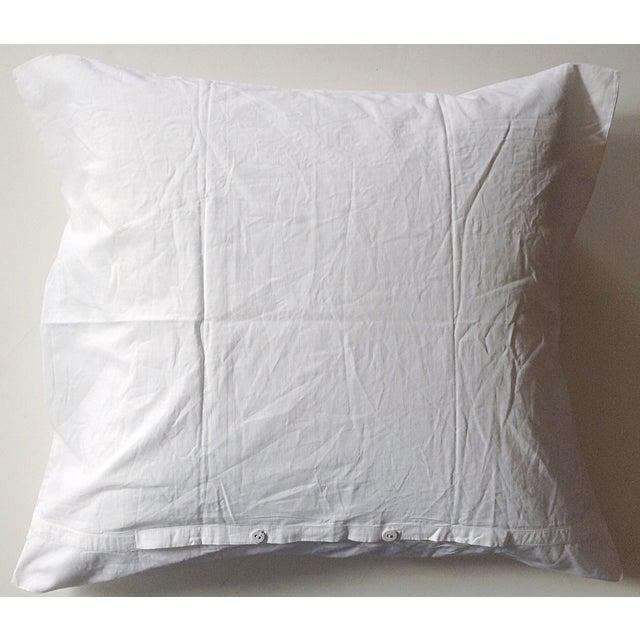 European German Blessing Pillow Sham For Sale - Image 4 of 5