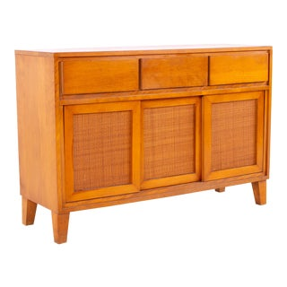 Mid Century Russel Wright for Conant Ball Blonde Sideboard For Sale