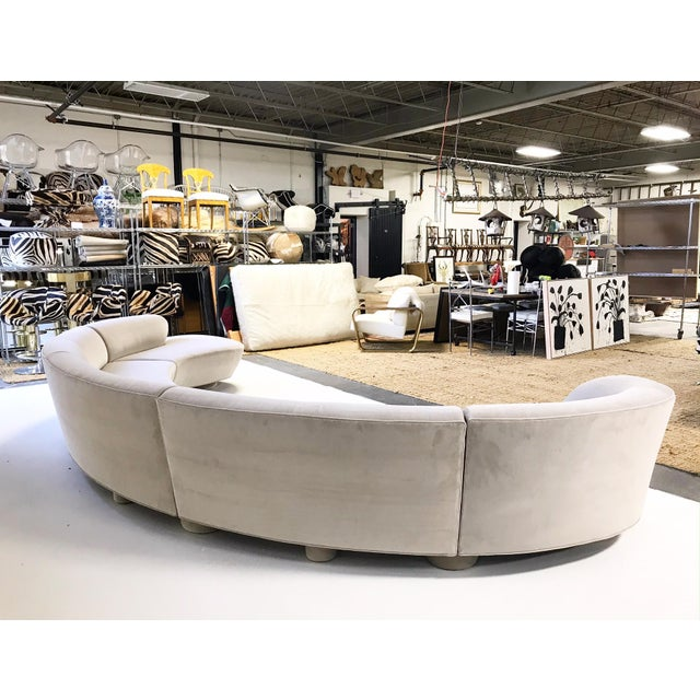 The classic sofa designs of Vladimir Kagan boast smooth, sensuous lines with an unparalleled flair. We were ecstatic when...