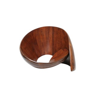 Norman Ridenour Walnut Chair Sculpture For Sale