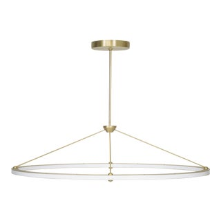 Halo Oval Pendant by Roll & Hill For Sale