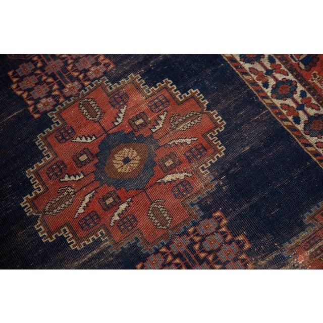 """Antique Fine Afshar Rug - 4'3"""" x 5'2"""" For Sale - Image 9 of 13"""