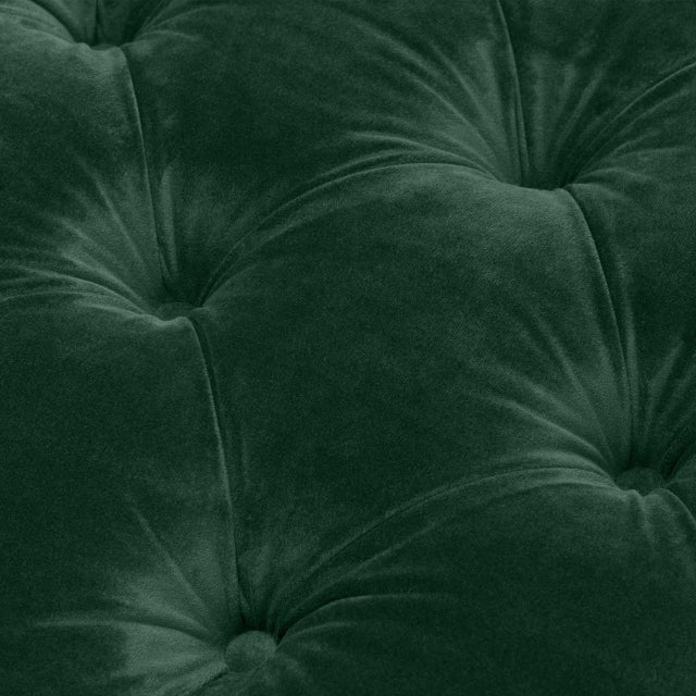 Green Tufted Cube Chair | Eichholtz Castelle For Sale In Greensboro - Image 6 of 9