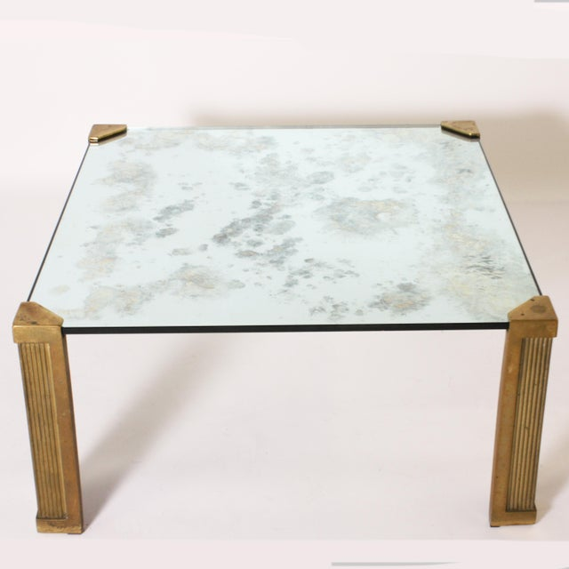 1970s Peter Ghyczy Coffee Table With Smoked Glass Top C. 1970 For Sale - Image 5 of 6