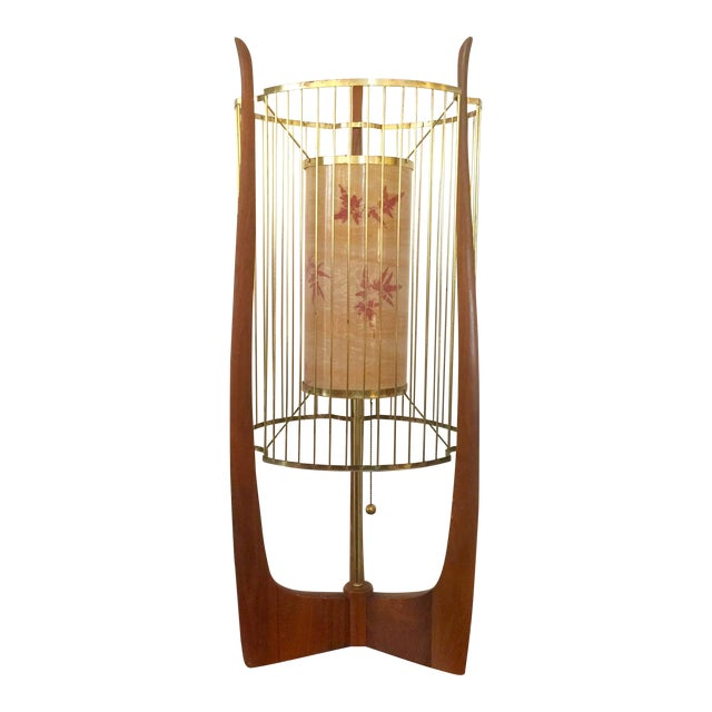Modaline Sculptural Lamp with Original Shade For Sale