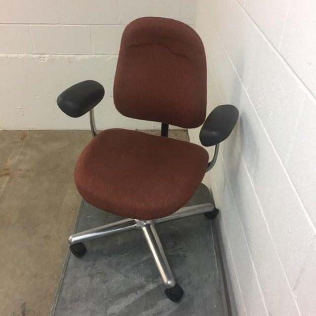 Mid-Century Modern Herman Miller Ergon Aluminum Task Chair For Sale - Image 3 of 7