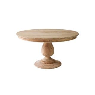 "Charlotte Pedestal Table - 60"" For Sale"