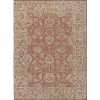 """Mansour Fine Handwoven Agra Rug - 6'2"""" X 8'2"""" For Sale"""