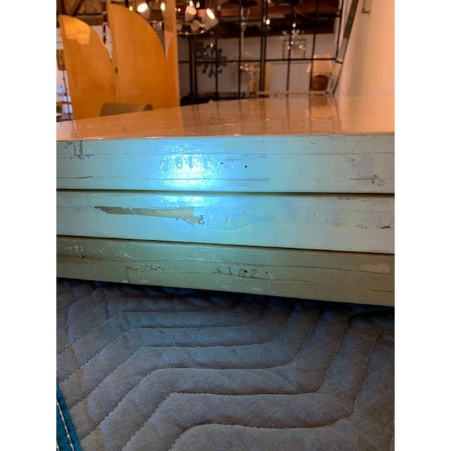 Vintage Large Parchment Screen Attributed to Karl Springer For Sale In West Palm - Image 6 of 8