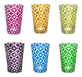 Image of Pop Art Tumblers and Tall Glasses