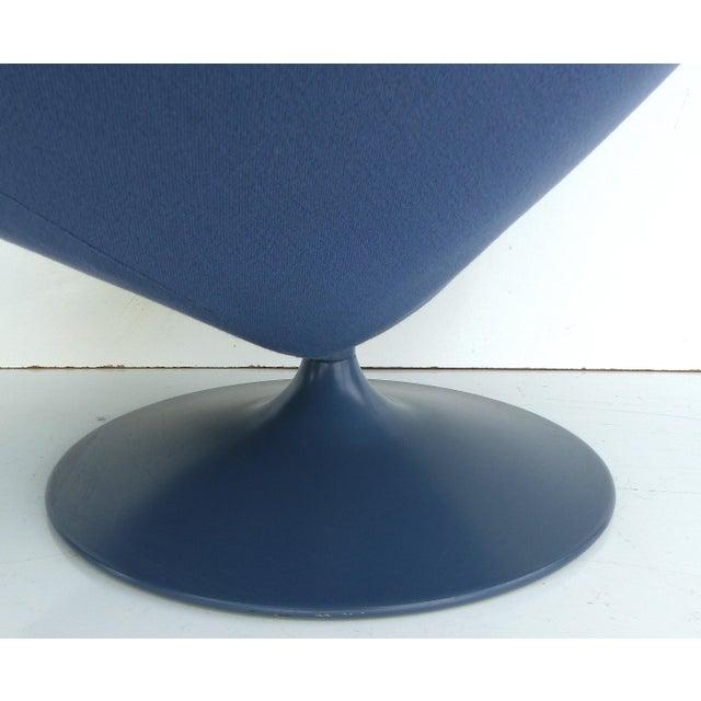 Mid-Century Modern Geoffrey Harcourt Chair & Ottoman For Sale - Image 7 of 11