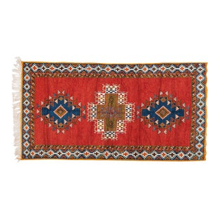 Berber Rug - Medium With Intricate Designs Organic Dye For Sale