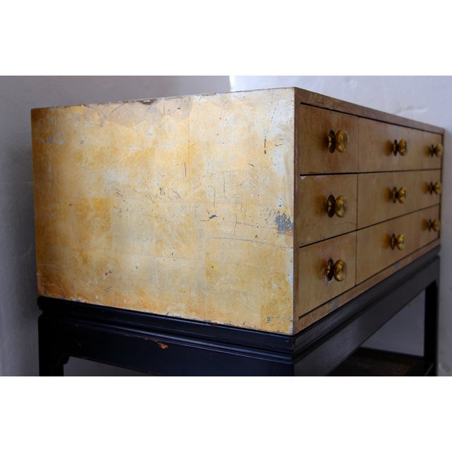 1950's Kittinger Gold Leaf Chest - Image 8 of 9