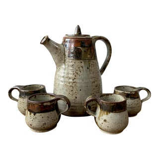Studio Pottery Pitcher For Sale