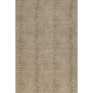 "Stark Studio Rugs Deerfield Almond Rug - 3'11"" X 5'10"" For Sale"