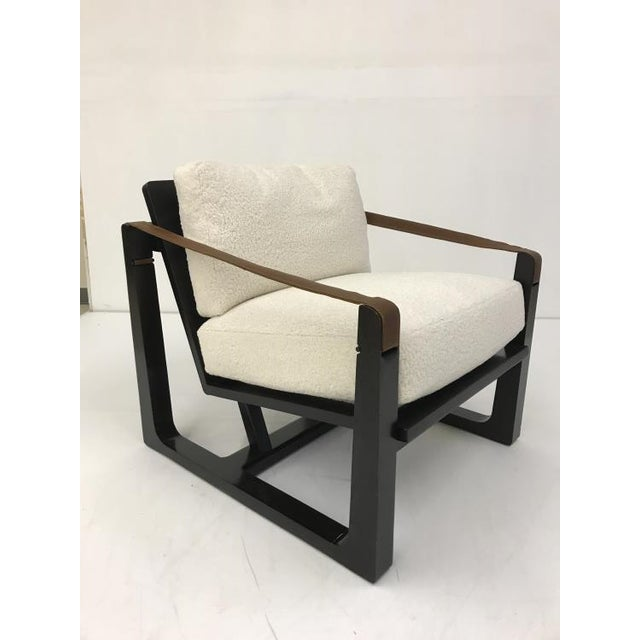 Transitional Century Furniture Dax Chair For Sale - Image 3 of 5