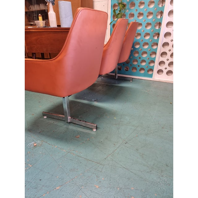 Metal Mid Century Tandem Bench by Jansko of California For Sale - Image 7 of 8