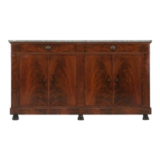 Antique French Restauration Buffet in Mahogany