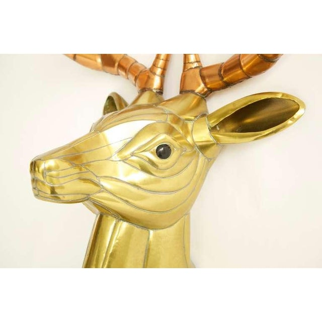Sergio Bustamante Stag Head For Sale In Chicago - Image 6 of 10