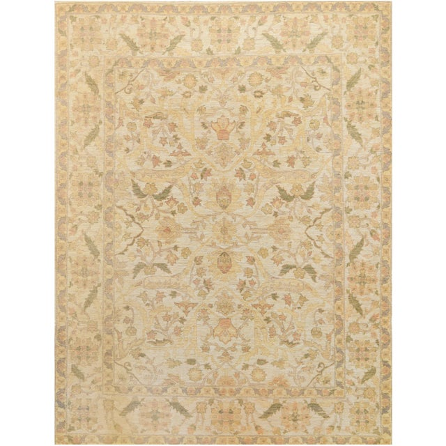 Traditional Mansour Quality Handwoven Agra Rug - 8' X 10' For Sale - Image 3 of 3