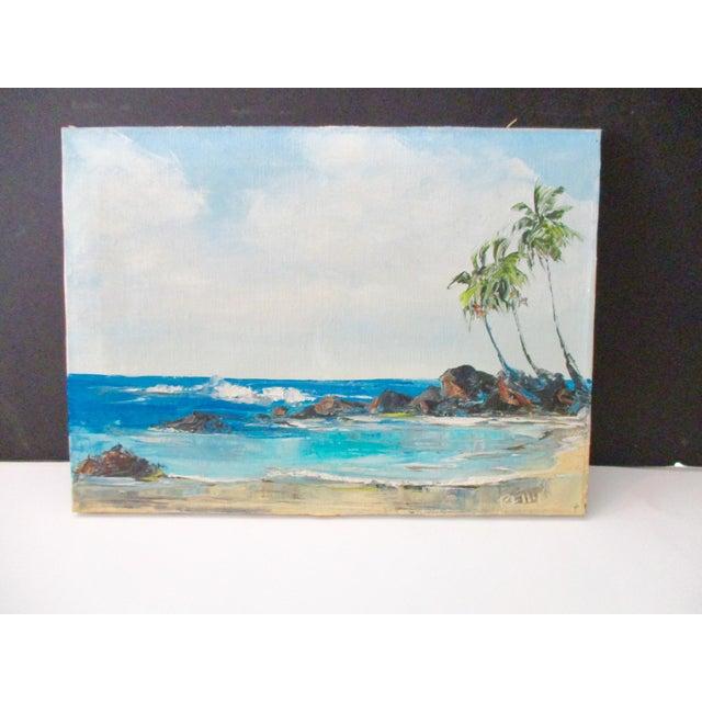California Plein Air Seascape Painting - Image 6 of 9
