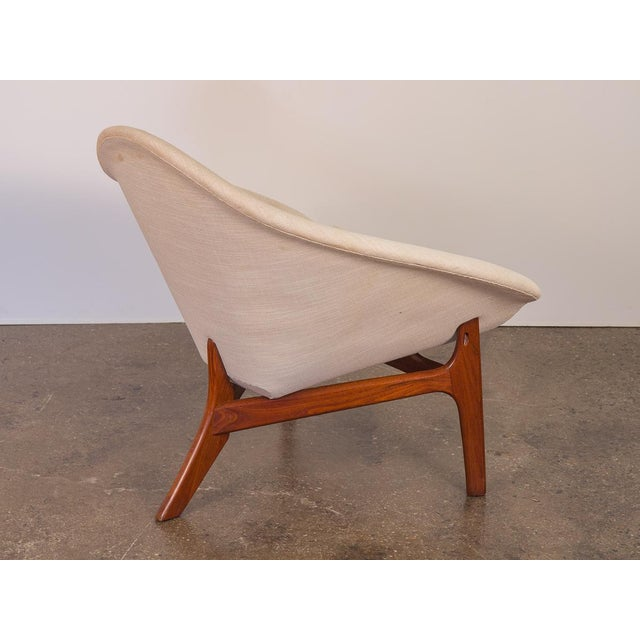 Mid-Century Modern Rare Adrian Pearsall Coconut Chair For Sale - Image 3 of 10
