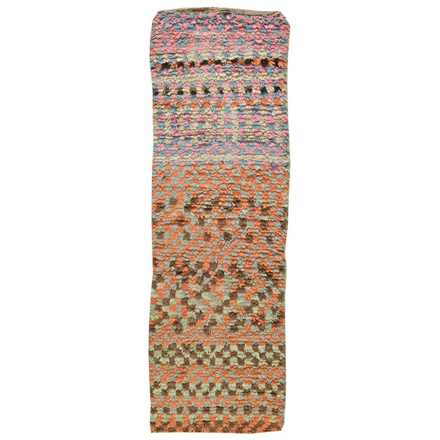 Moroccan Vintage Runner Rug For Sale In New York - Image 6 of 6