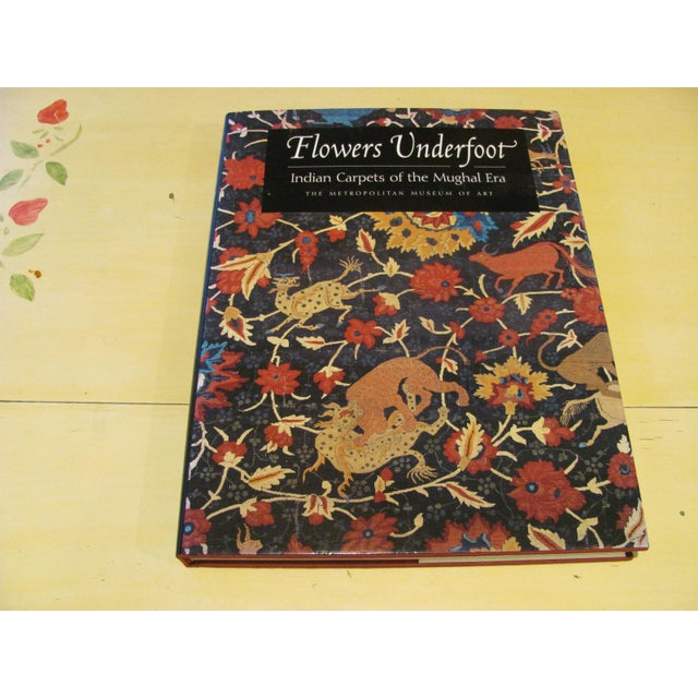 """""""Flowers Underfoot: Indian Carpets of the Mughal Era"""" Book by Daniel Walker For Sale - Image 9 of 9"""