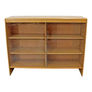 Mid-Century Modern Heywood Wakefield Champagne Hutch Top For Sale