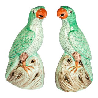 Early 20th C. Chinese Parrots For Sale