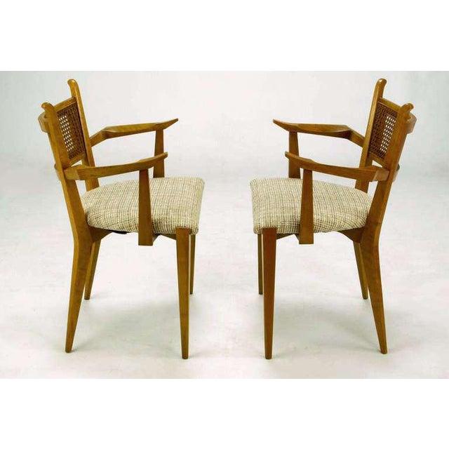Edmond J. Spence Set Six Edmond Spence Swedish Dining Chairs For Sale - Image 4 of 11