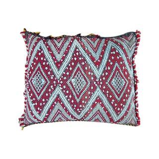 Diamond Pattern Moroccan Pillow