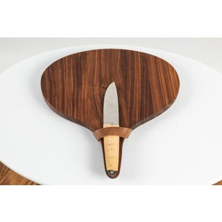 Mid-Century Modern Carl Auböck Walnut Board and Cheese Knife Preview