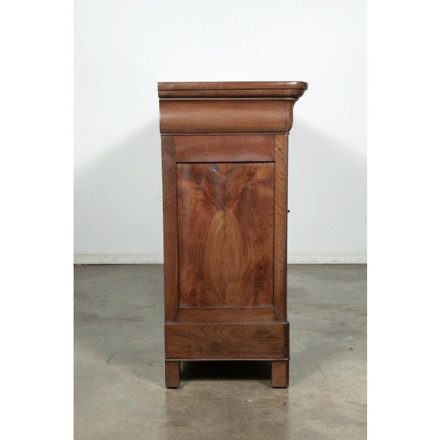 19th Century French Louis Philippe Enfilade Buffet With Bookmatched Front For Sale - Image 10 of 11
