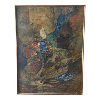 Z. Charlotte Sherman Framed Oil on Board