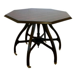 Hickory Chair Modern Maria Octagonal Foyer/Center Table For Sale