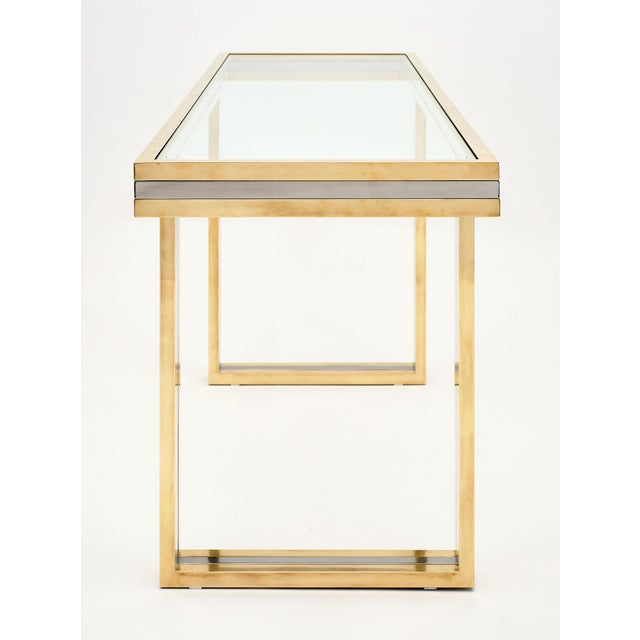 Romeo Rega Signed Console Table For Sale - Image 9 of 10