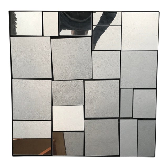 Cb2 Neal Small Slopes Style Mirror For Sale