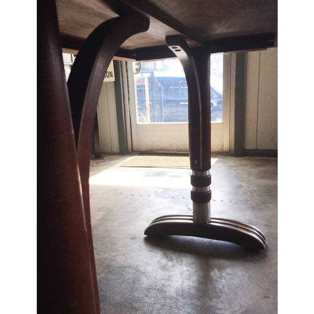 French Art Deco Bistro Dining Table - Image 8 of 11